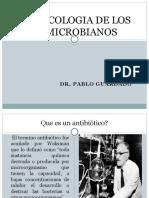 1. Farmacologia de Los Antimicrobianos