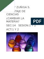 Reportaje de Quimica