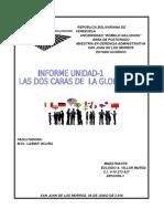 Informe Definitivo de Las Dos Caras de La Globalizacion