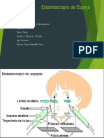 Estereoscopio de Espejo