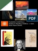 Filosofía y Estética - Kant