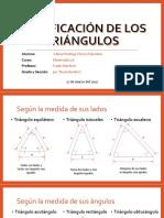 Adrian Flores Palomino - Clasificación de Los Triángulos