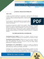Analisis DOFA Criterios de Seleccion de Un Canal de Distribucion
