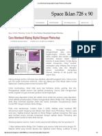 Cara Membuat Kliping Digital Dengan Photoshop _ Pluspedia