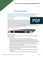 Cisco 5520 Wireless Controller Data Sheet