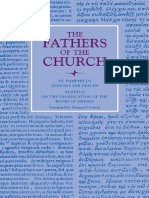 (Fathers of the Church Patristic Series) Pamphilus, Thomas Scheck-Apology for Origen_ With on the Falsification of the Books of Origen by Rufinus-The Catholic University of America Press (2010) (1) (1)