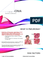 Pediatric Pneumonia