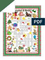 Crucigrama de Navidad-ToDOS LOS NIVELES