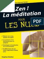 Zen! La Méditation Poche Pour les Nuls - Stephan BODIAN.pdf