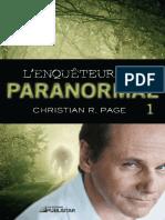 L Enquêteur Du Paranormal