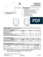 Datasheet - Semiconductor Diode - Sbr05m60blp