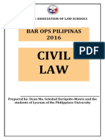 PALS Civil Law 2016