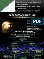 Electrificación de Minas