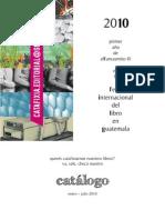 catálogo 2010