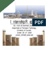 PRL Internship Report