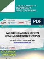 Antonio Attias La Excelencia Como Eje Vital Para El Crecimiento Personal PDF