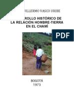 Desarrollo Historico de La Relacion Hombre-tierra en El Chami