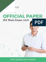 2016 JEE Main Paper