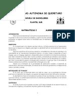 Presentación Curso Mat I-16
