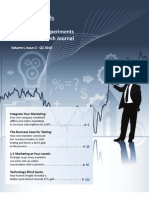 The MarketingExperiments Quarterly Research Journal, Q2 2010