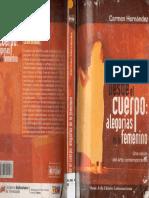Carmen Hernandez - Desde el cuerpo. alegorias de lo femenino. Una vision del arte contemporaneo.pdf
