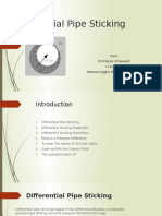 Differential Pipe Sticking