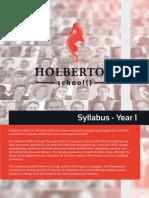 Holberton School Syllabus