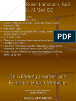 Be a Lifelong Learner With Evidence Based Medicine
