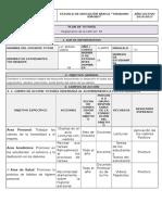 Plan de Tutoria 2016-2017