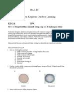 Outdoor Learning IPA,BIG,IPS,B.indo