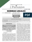 Decreto Supremo N° 011-2017-PCM