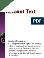 RecountText