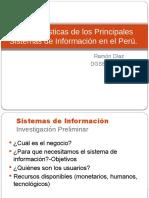 Balance y Caracteristicas de Los Principales Sistemas de Informacion en Peru Ramon Diaz