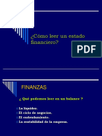 Como Leer Un Estado Financiero