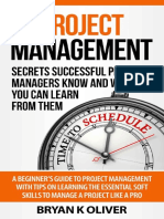 Project Management_ Secrets Successful Project Managers Know and What You C