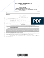 House Bill 142 Provided By Sen. Phil Berger