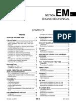 Manual d Taller d Sentra 2011 Motor MR20DE
