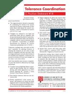 PS 18 Concrete Tolerance Coordination
