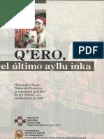 OSCAR NUÑEZ DEL PRADO - Q´ero, el último ayllu inka