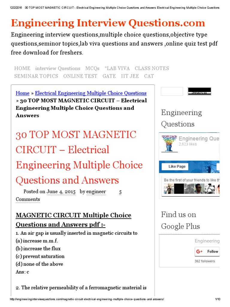 Everything Electrical How To Test Circuits Like A Pro Part 1 Pdf Afci Vs Gfci Circuit Breakers Youtube 30 Top Most Magnetic Engineering Multiple Rh Scribd Com