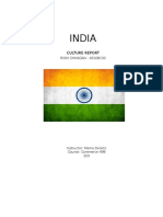 Culture Report India
