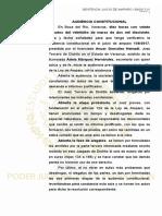 """Sentencia Juicio de Amparo 159/2017 Caso """"Los Porkys"""""""