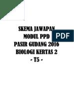 Modul Biologi 2016 t5 Skema