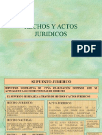 Hechos Juridios Rojina Villegas