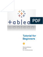 Tableau Tutorial for Beginners