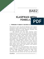 2 Klasifikasi Media