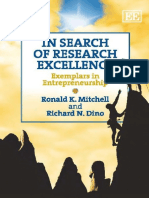 Ronald K. Mitchell, Richard N. Dino-In Search of Research Excellence_ Exemplars in Entrepreneurship-Edward Elgar Publishing (2011)
