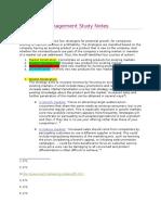 Marketing Management Study Notes - The ANSOFF