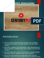 PPT on Centuryply case study