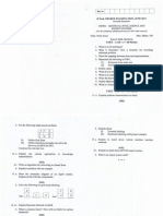 CS0302 AI Question Paper June 2013